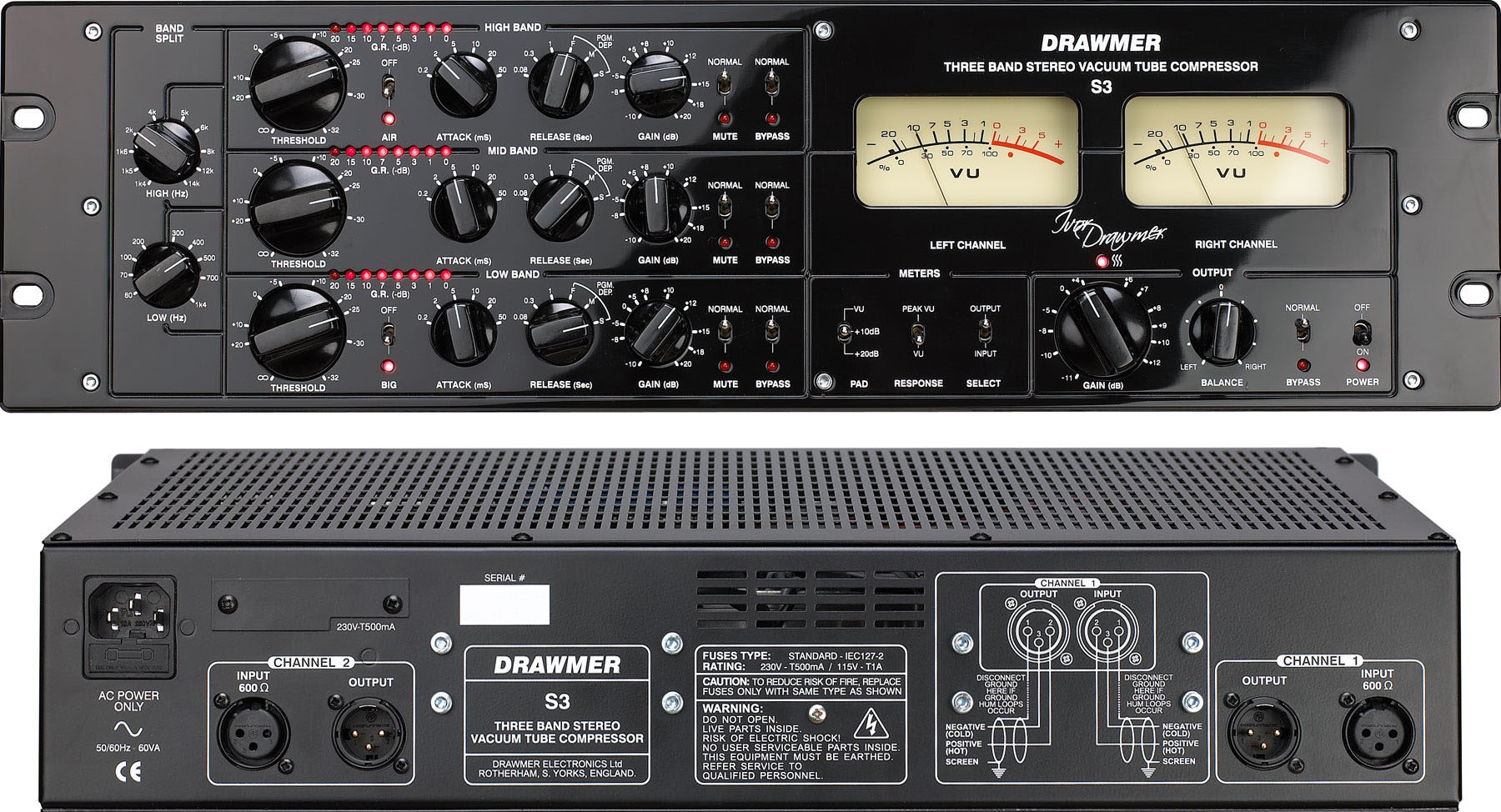 New Analogue Power for our Hybrid Mastering Suite – Drawmer S3 Mutliband Compressor arrived!